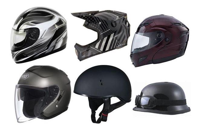 Jenis Helm Sepeda Motor Yang Harus Anda Ketahui